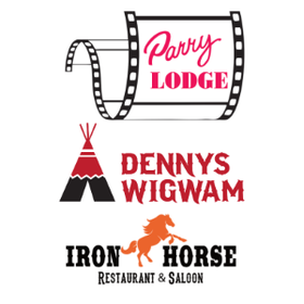 Parry Lodge - Denny's Wigwam - Ironhorse Restaurant & Saloon Logo