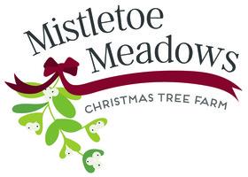 Mistletoe Meadows Christmas Trees Logo