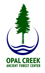 Opal Creek Ancient Forest Center Logo