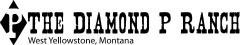 The Diamond P Ranch Logo