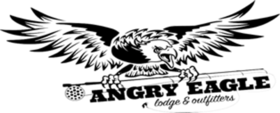 Angry Eagle Lodge and Outfitters Logo