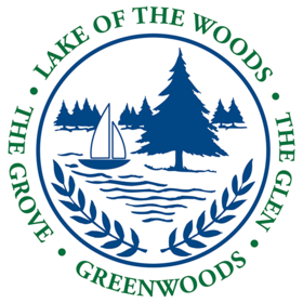 Lake of the Woods and Greenwoods Camps Logo