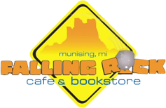 Falling Rock Cafe and Bookstore Logo