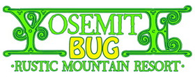Yosemite Bug Rustic Mountain Resort Logo