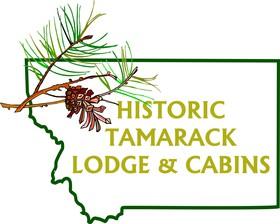 The Historic Tamarack Lodge and Cabins Logo