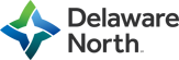 Delaware North at the Kennedy Space Center Logo
