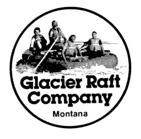 Glacier Raft Company Logo