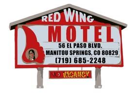 Red Wing Motel Logo