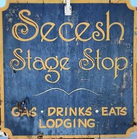 Secesh Stage Stop Logo