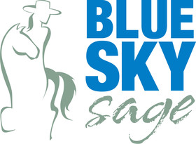 Blue Sky Sage Horseback Riding Retreats Logo