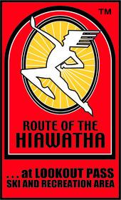 Route of the Hiawatha Logo