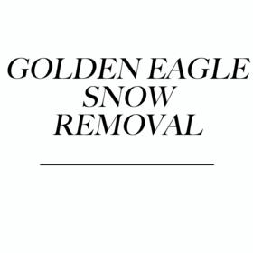 Golden Eagle Snow Removal Logo