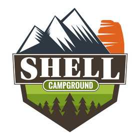 Shell Campground & Old Shell Store Logo