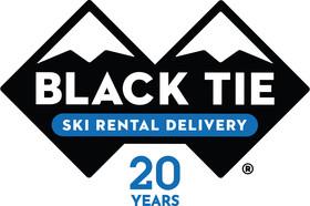 Black Tie Delivery Ski Rentals of Park City Logo