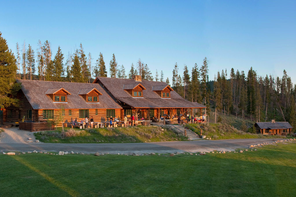 Sensational Idaho Rocky Mountain Ranch Work Hard Play Hard In The Download Free Architecture Designs Grimeyleaguecom
