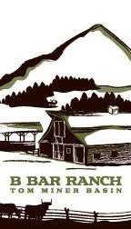 B Bar Ranch Logo