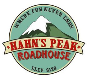 The Hahn's Peak Roadhouse Logo