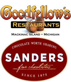 Goodfellow's Restaurants/Sanders Candy Logo