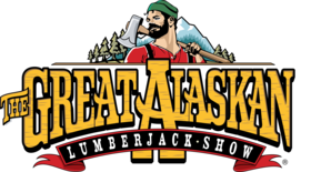 The Great Alaskan Lumberjack Show Logo