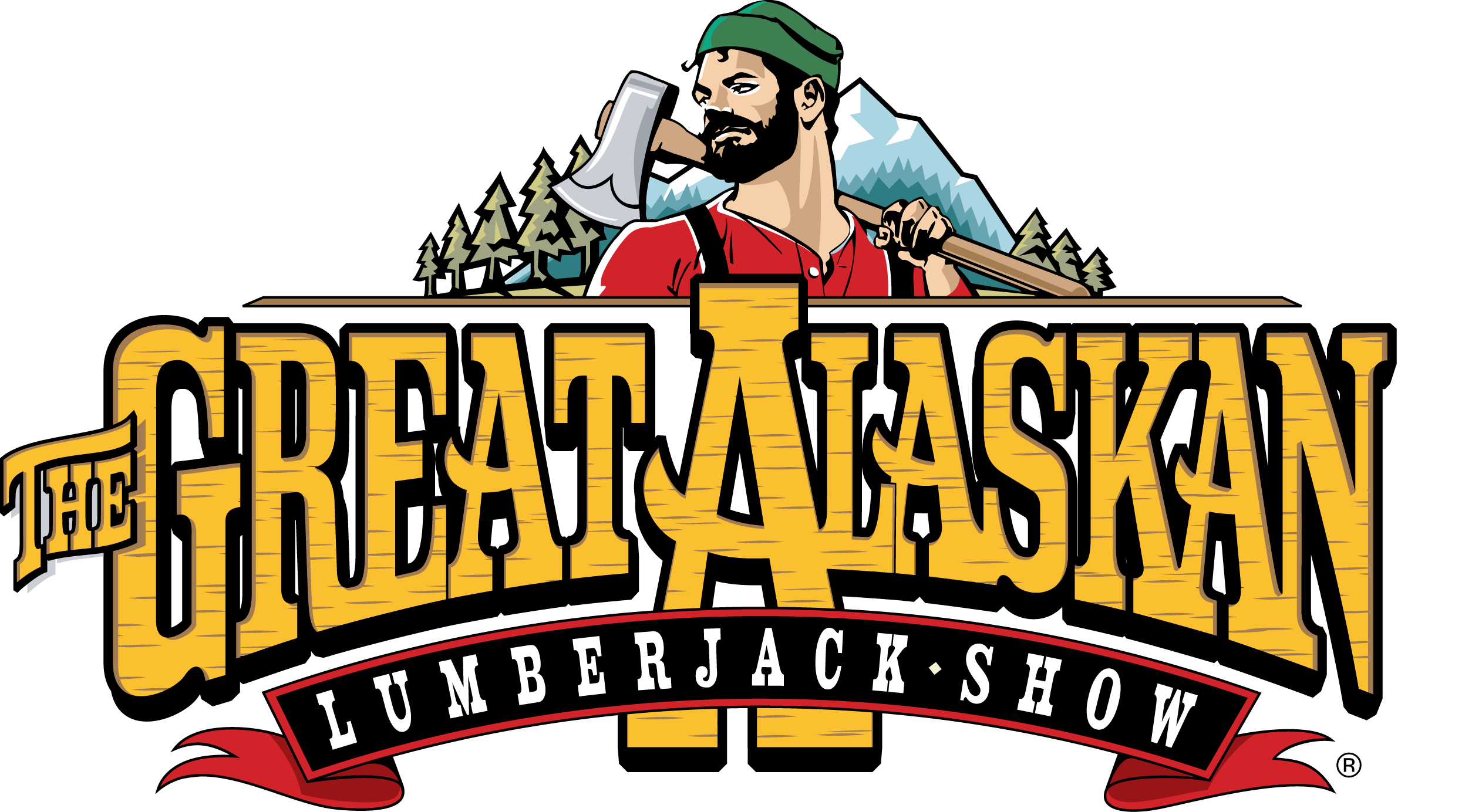 The Great Alaskan Lumberjack Show Logo