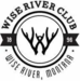 The Wise River Club Logo