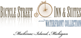 Bicycle Street Inn and Mackinac Cycle Logo