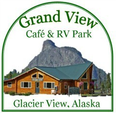 Grand View Cafe & RV Campground Logo