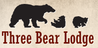 Three Bear Lodge and Restaurant Logo